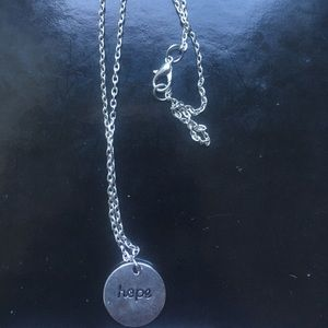 Stainless steel hand made pendant